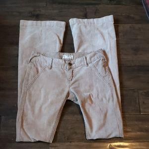 Free People Bellbottom Corduroy Pants